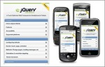 screenshot of jQuery Mobile's documentation page